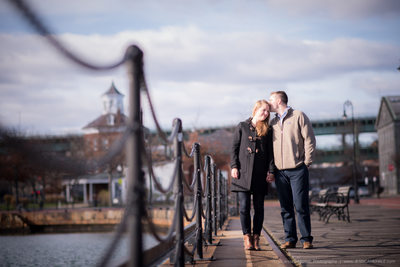 Charlestown Navy Yard Engagement Photos