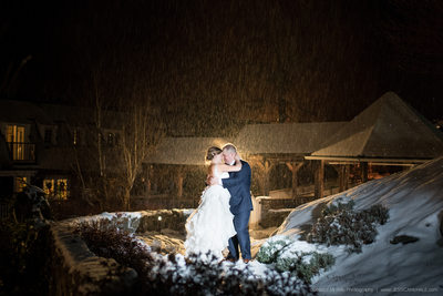 Red Lion Inn Winter Wedding