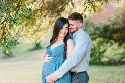 Arsenal Park Maternity Photos