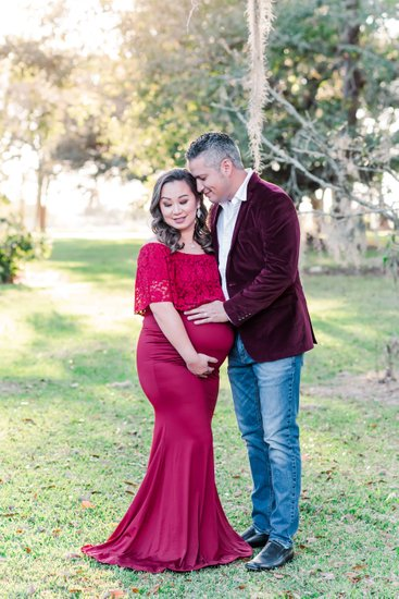 Maternity photos at Ardoyne Plantation