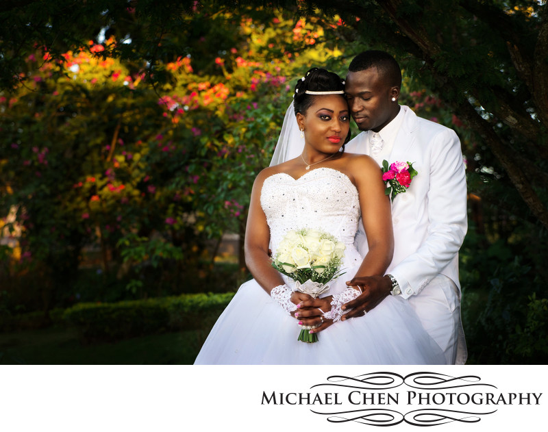 garden wedding in montego bay jamaica