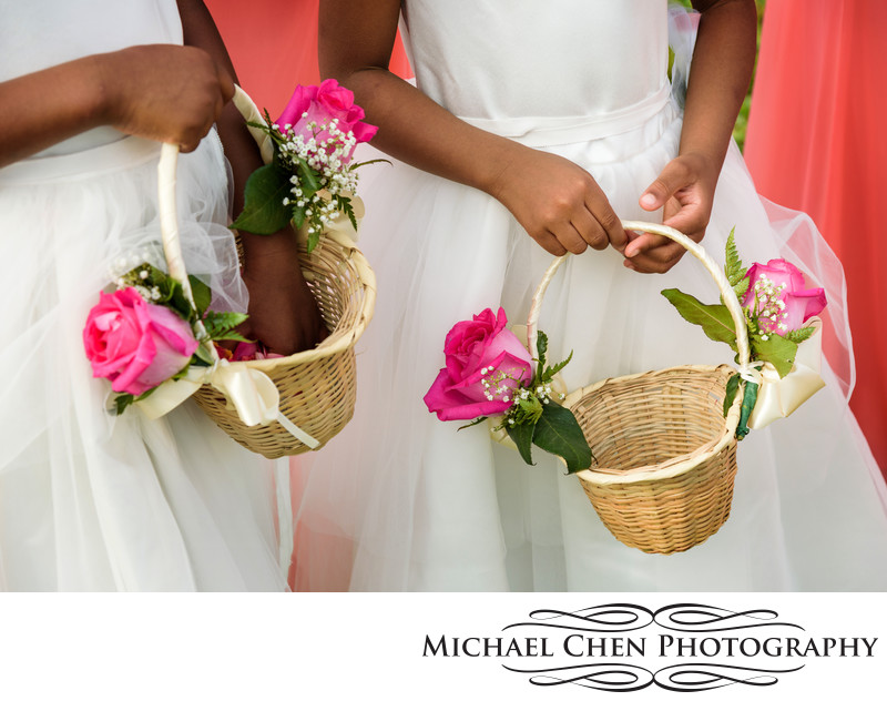 flower basket for wedding in jamaica