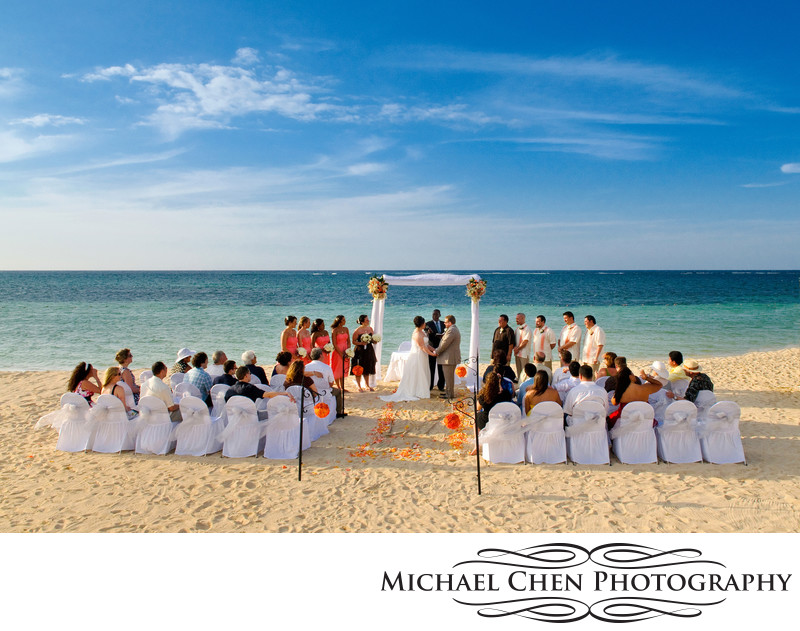 beach wedding iberostar jamaica