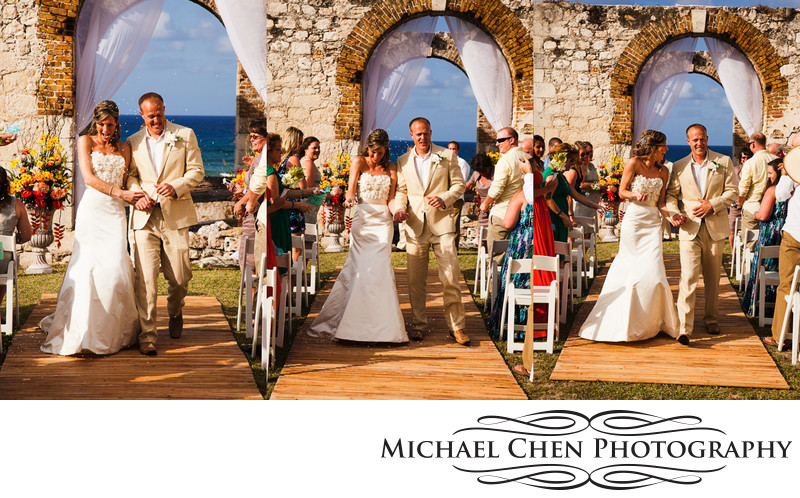 rose hall aqueduct wedding jamaica