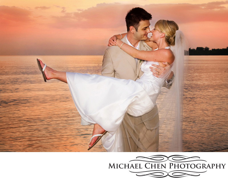 sunset weddings in negril jamaica