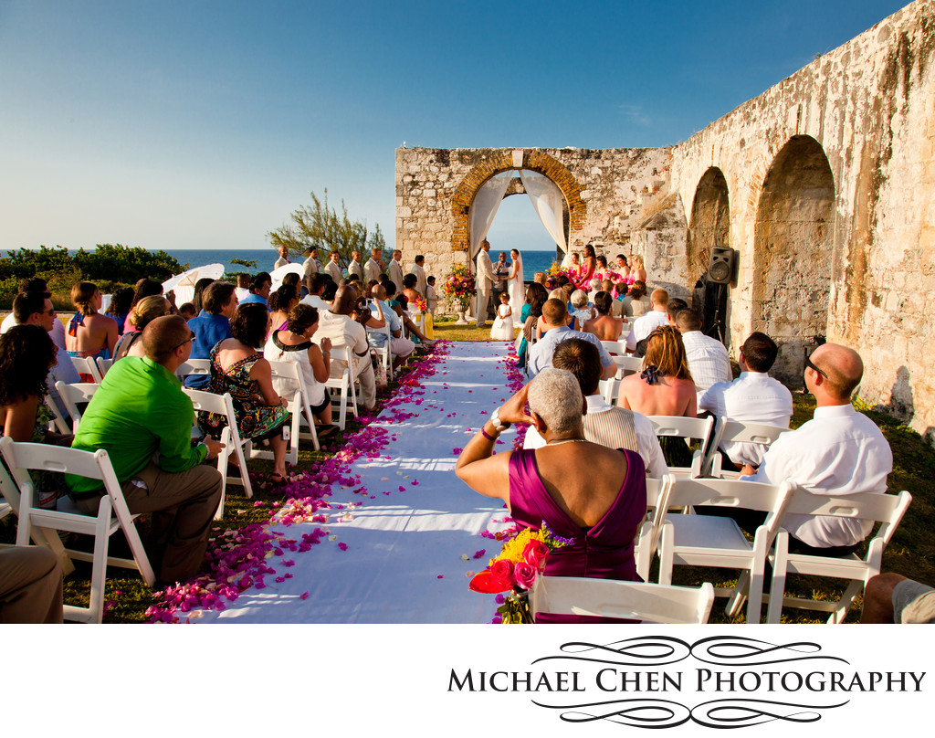 wedding rose hall aqueduct montego bay jamaica