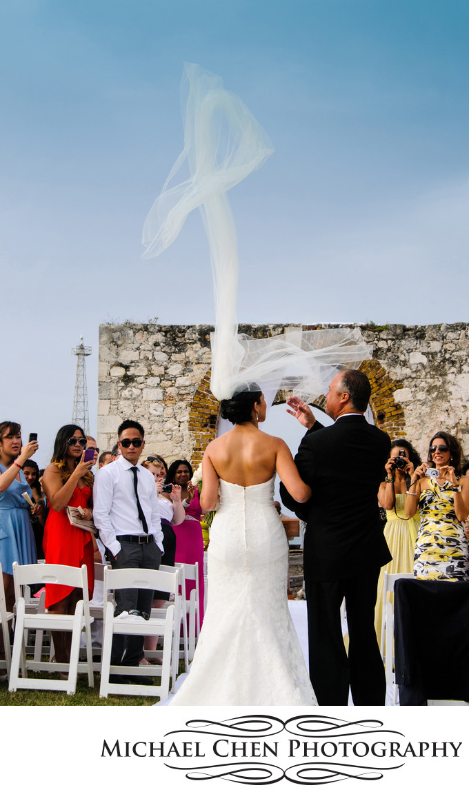 wedding ceremony in rose hall jamaica
