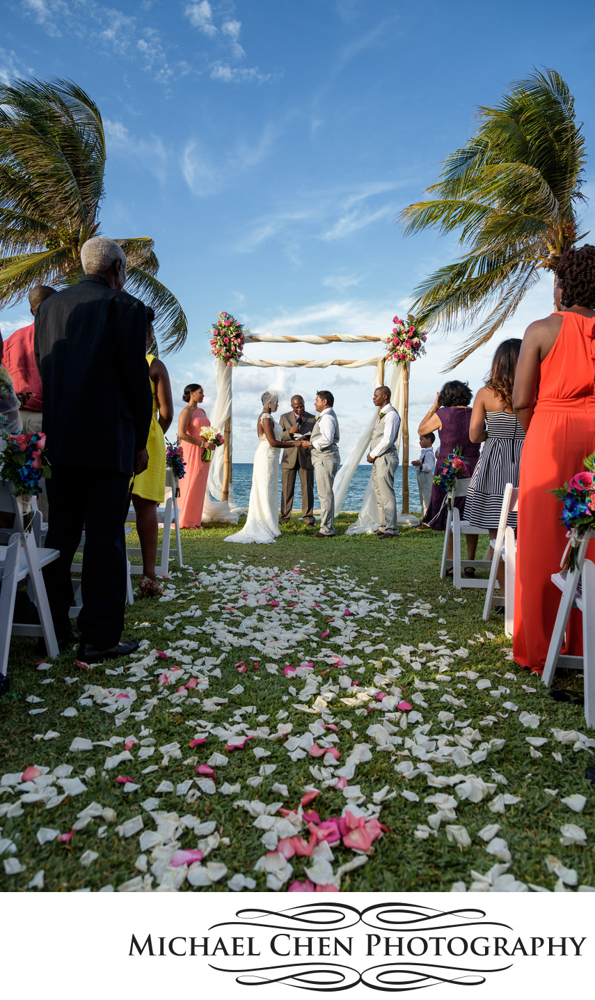 wedding ceremony in montego bay jamaica
