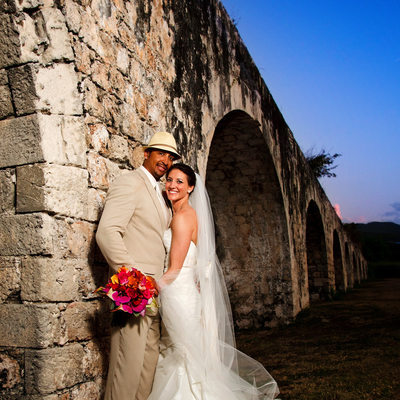 twilight wedding in montego bay jamaica