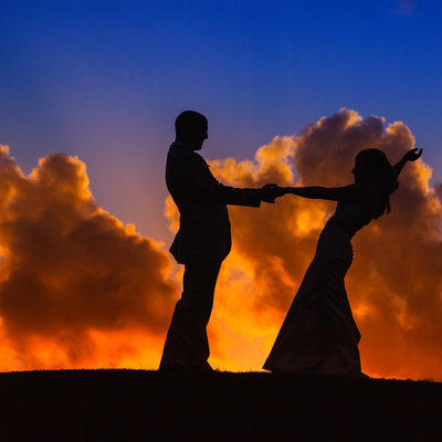 sunset wedding at rose hall montego bay jamaica