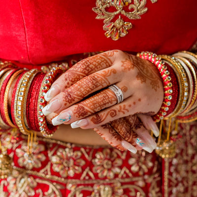 hindu bridal wedding photographer in jamaica