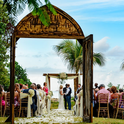 wharf house wedding photographer jamaica