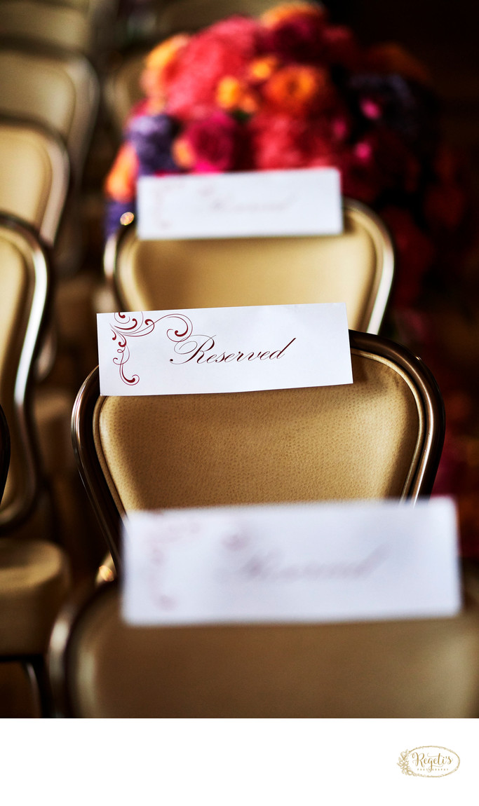 Wedding Ceremony Stationery Details
