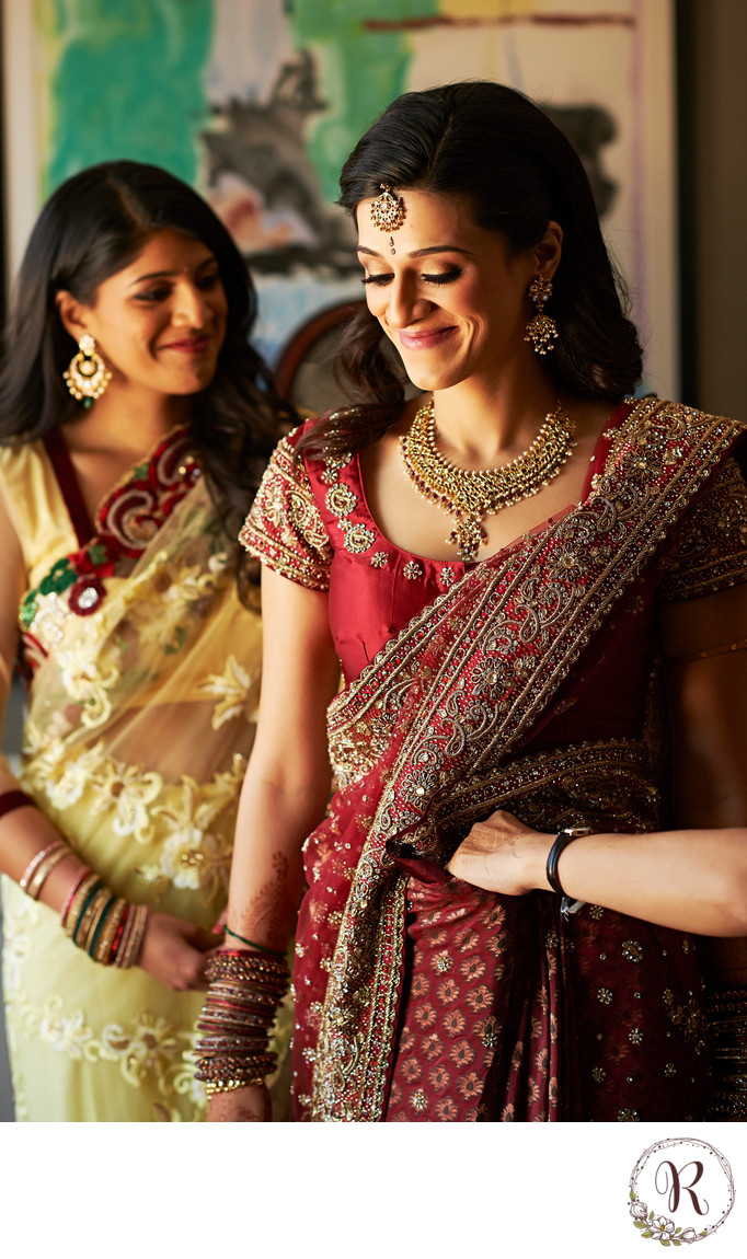 The Art of Sari Tying