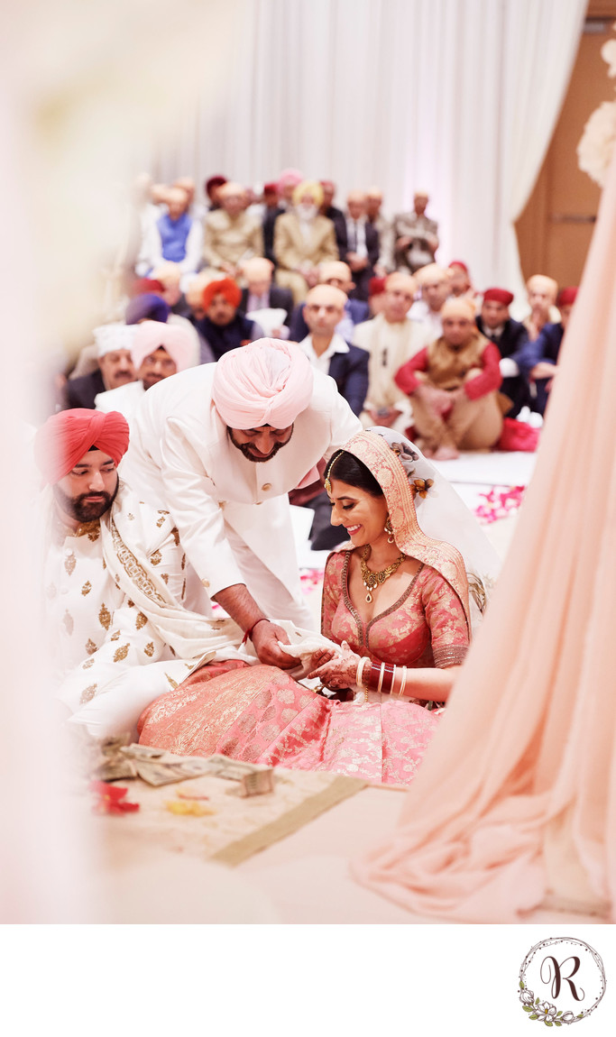 Giving of the Bride by Her Father