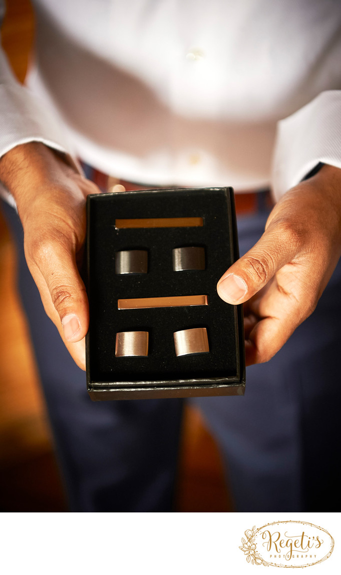 Cufflinks from the Boys