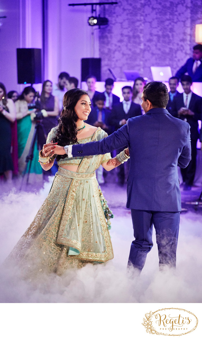 South Asian Indian Wedding Reception, Ritz Carlton