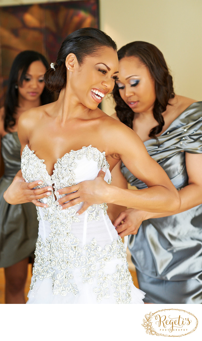 Monique Samuels of  Bravo TV's Real Housewives of Potomac (RHOP)