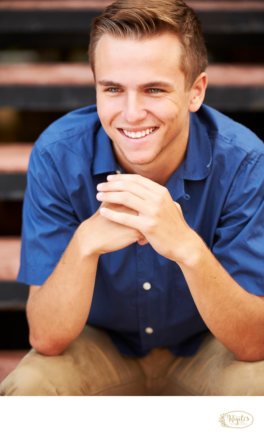 Christian's High School Senior Portrait