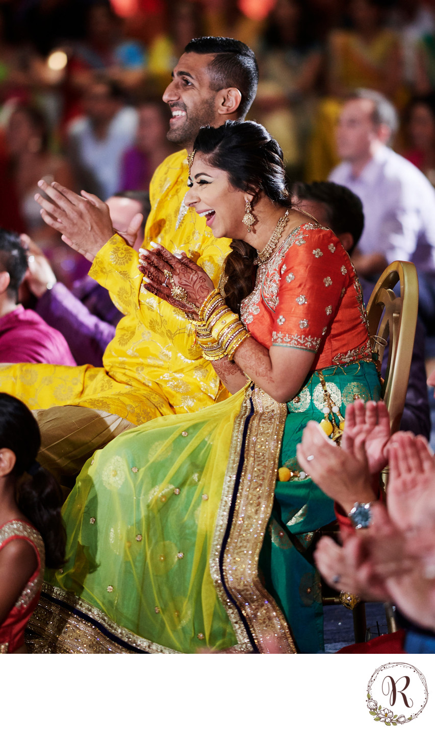 Indian Wedding Reception Photographer, Baltimore, MD