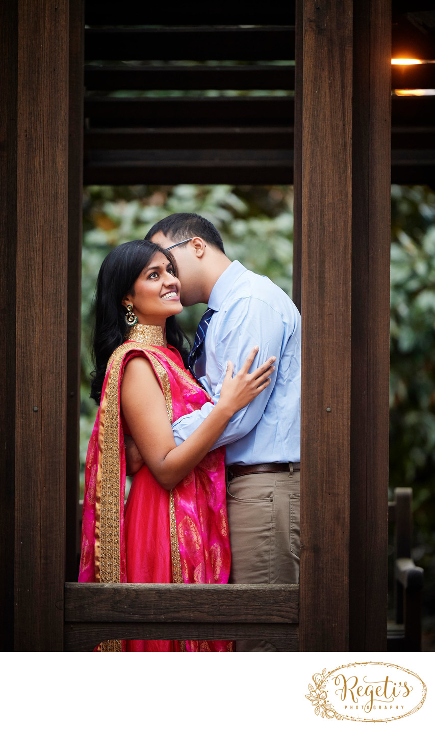 Shilpa and Arhant's South Indian  Engagement Session