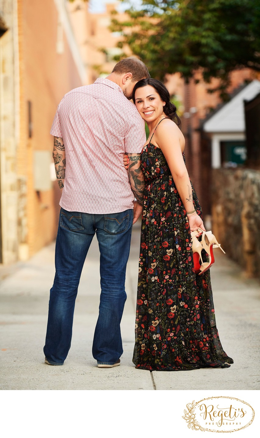 Engagement Session in Georgetown, Washington DC