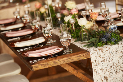 Rustic Fused Jewish Christian Indian Wedding