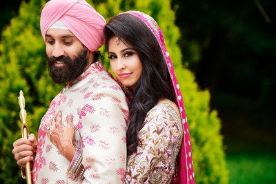 Sikh Wedding - Punjabi Style #Couples Goals