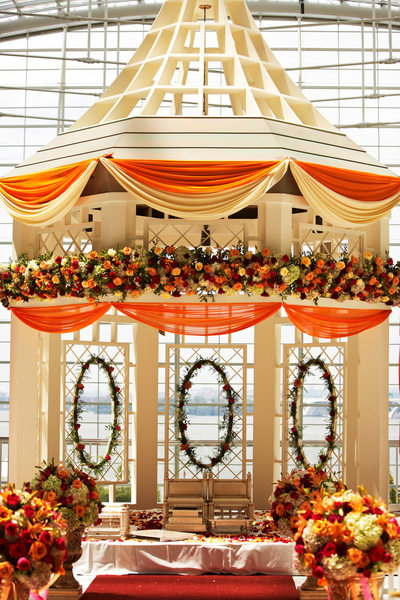 Mandap Decor for South Asian Wedding
