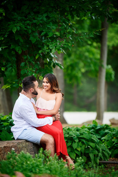 Faria and Osman's Engagement Photo