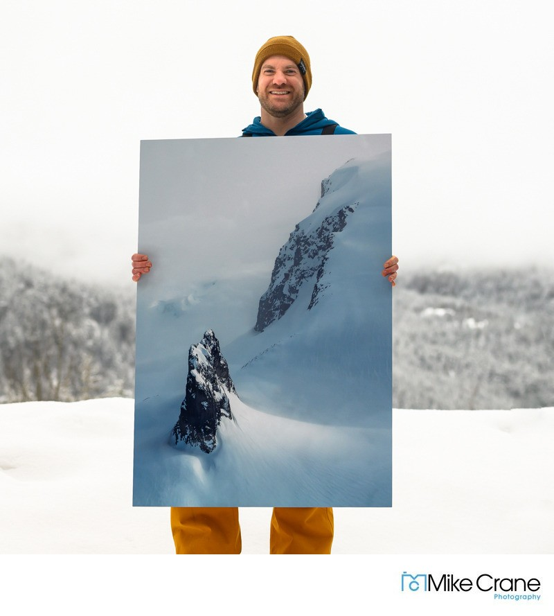 Canadian landscape photographer and adventure artist