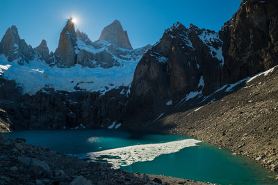 Fine art photography of Mount Fitz Roy in Patagonia