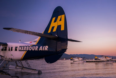 Marketing images for the aviation industry in Canada