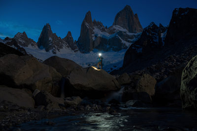 Patagonia print adventure photography at Mount Fitz Roy