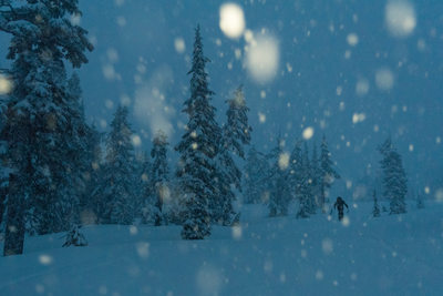 Ski touring outdoor lifestyle photography in BC