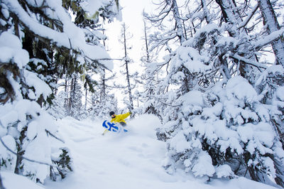 Commercial action sports photography in Whistler, BC