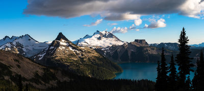 Large format Canadian mountain landscape photography