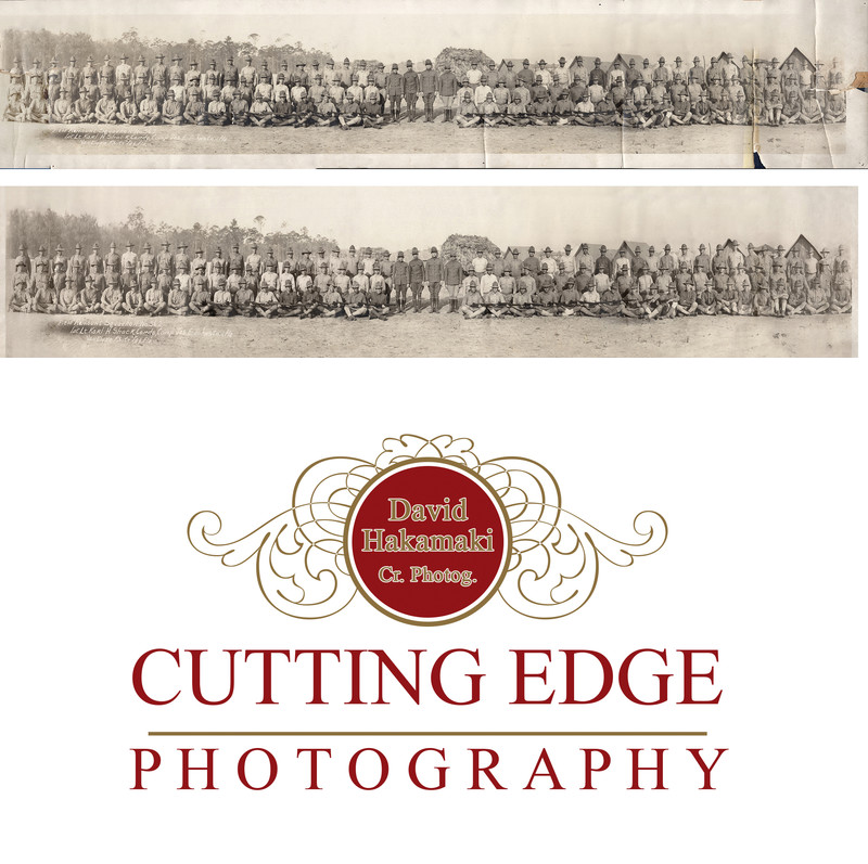Photo restoration by Cutting Edge Photography