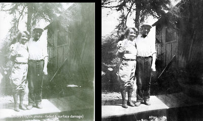 Cutting Edge Photography Photo Restoration