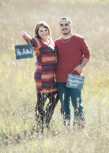 Cutting Edge Photgraphy Engagement Portraits