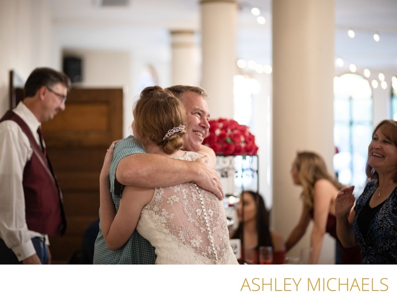 Nazareth Hall Wedding: Candid Moments
