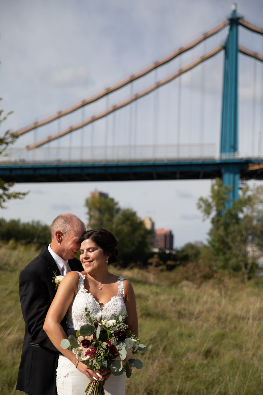 Toledo Ohio Wedding Photography: High Level Bridge