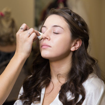 Candid Wedding Photography: Bride's Makeup