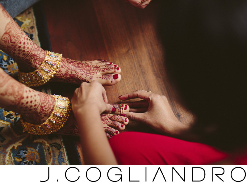 Toe Ring Best Indian Wedding Photography Houston
