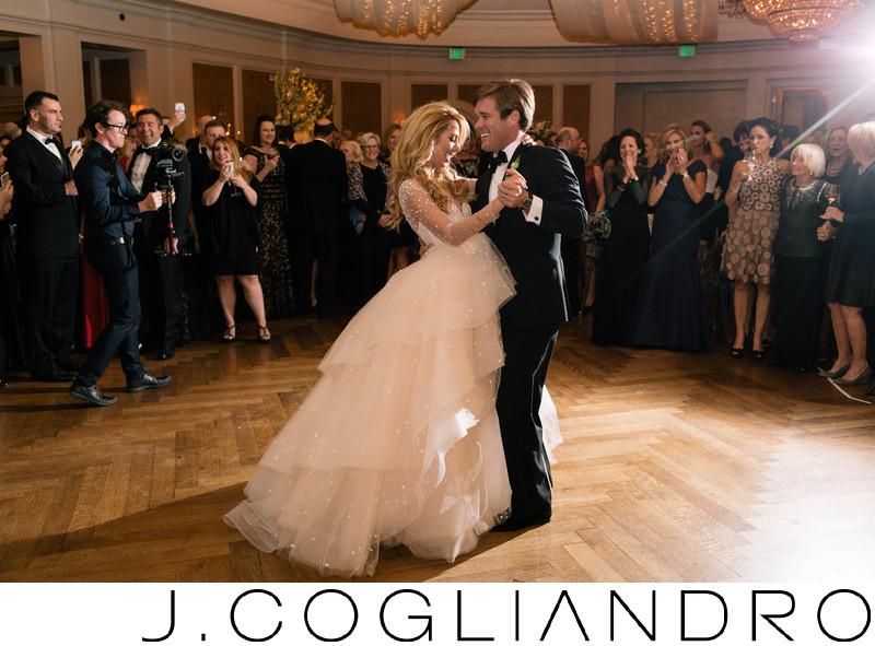 Wedding Dance at River Oaks Country Club in Houston