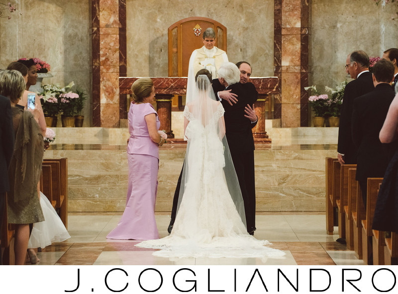 Wedding at Co-Cathedral of the Sacred Heart Houston