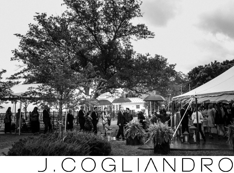 Outdoor Wedding Reception Texas Corinthian Yacht Club