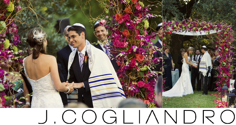 Under the Chuppah Jewish Wedding Photographer