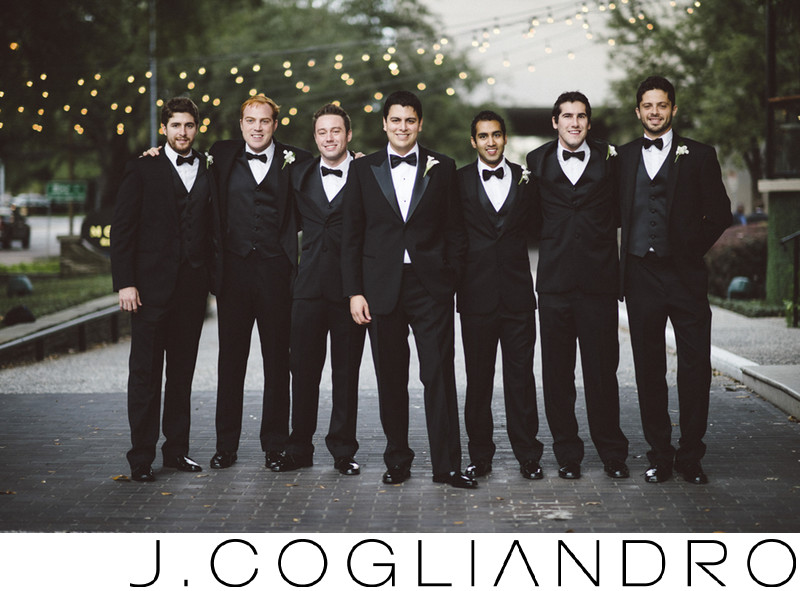 Groomsmen Houston Wedding Photography