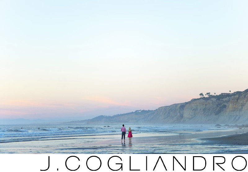 La Jolla Beach Engagement Photographer